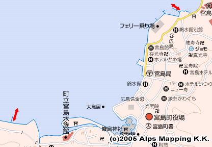 宮島 厳島港